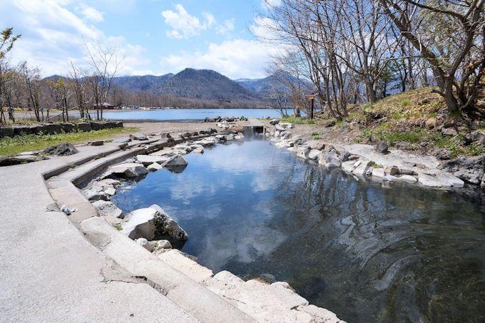 「和琴温泉露天風呂」は、快適な絶景大露天風呂!