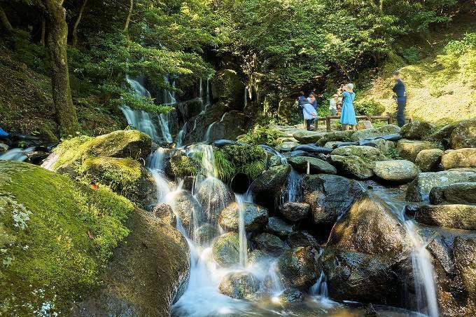 フォトジェニック!「白糸の滝」は定番写真スポット
