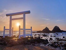 福岡・糸島「桜井二見ヶ浦」は年中楽しめる絶景!夏至以外も見所満載