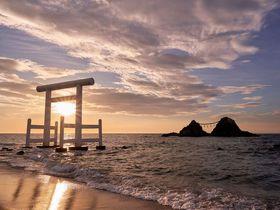 糸島「桜井二見ヶ浦」は年中楽しめる絶景!夏至以外も見所満載