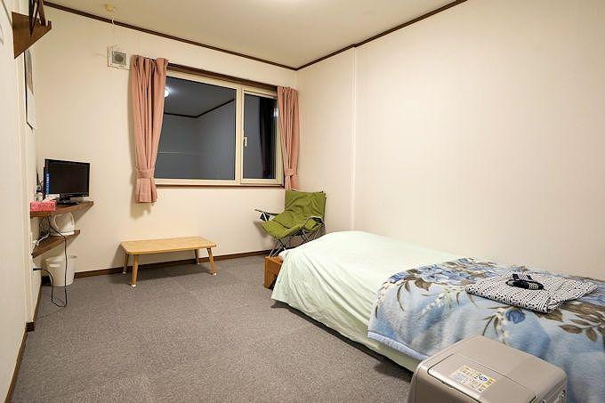 無駄を排したシンプルな客室だからこそ、癒される