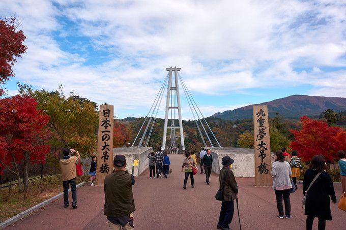 """「九重""""夢""""大吊橋」って、どんなところ?"""