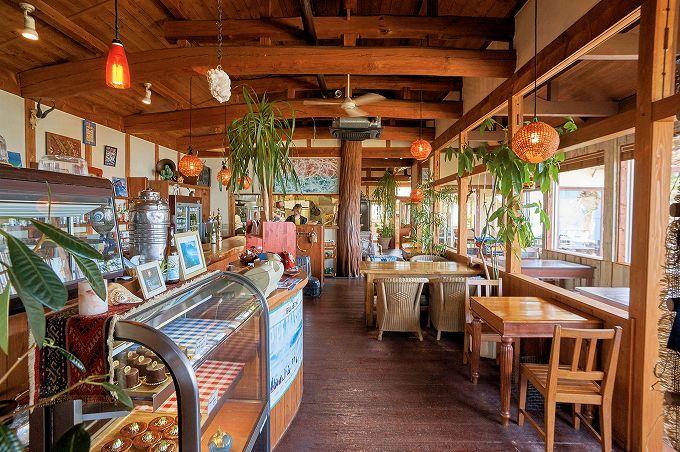 南国チックな糸島の老舗カフェ!