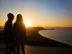 糸島「火山」山頂の夕日が絶景すぎる!おすすめの行き方は?