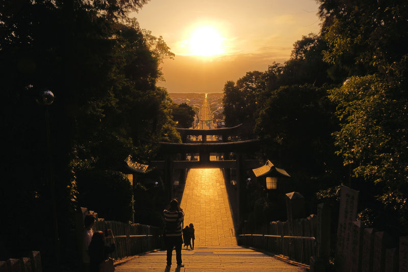 嵐CMの絶景!福岡・宮地嶽神社「光の道」2020春の見頃は?