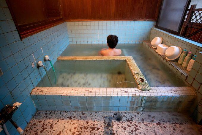 名物ぬる湯の入浴法とは?