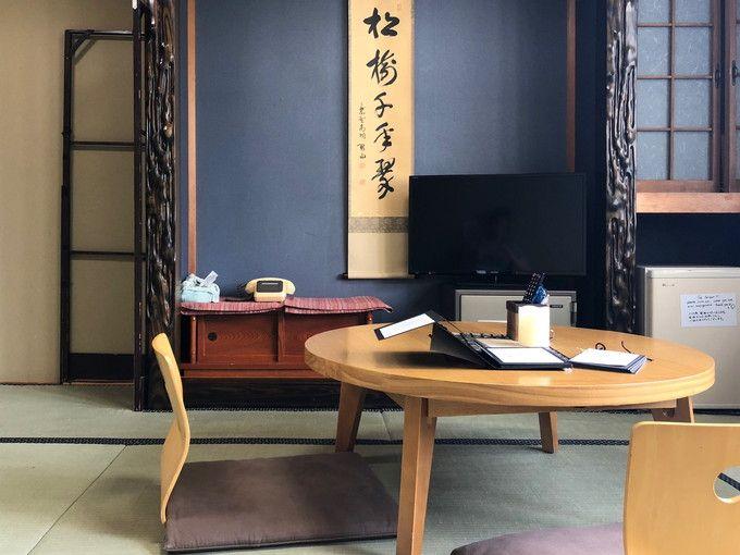 客室は全10室。純和風で統一