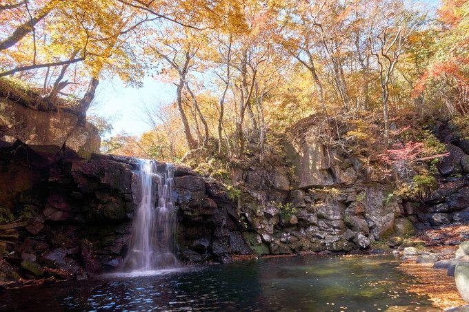 最大の見所が「マゼノ滝」