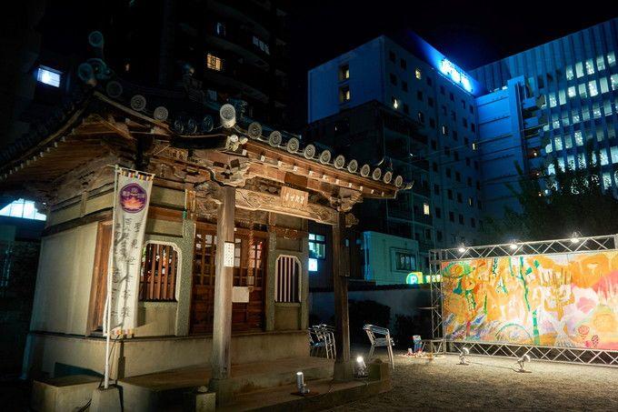 冷泉エリアの中核は、櫛田神社!