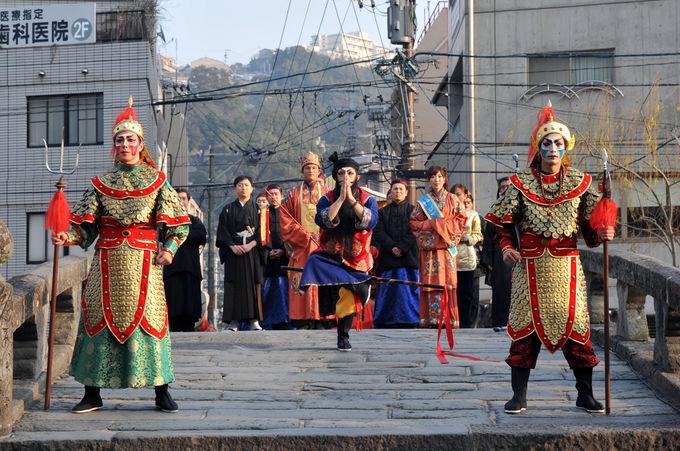 日時限定!皇帝パレードと媽祖行列は大人気イベント