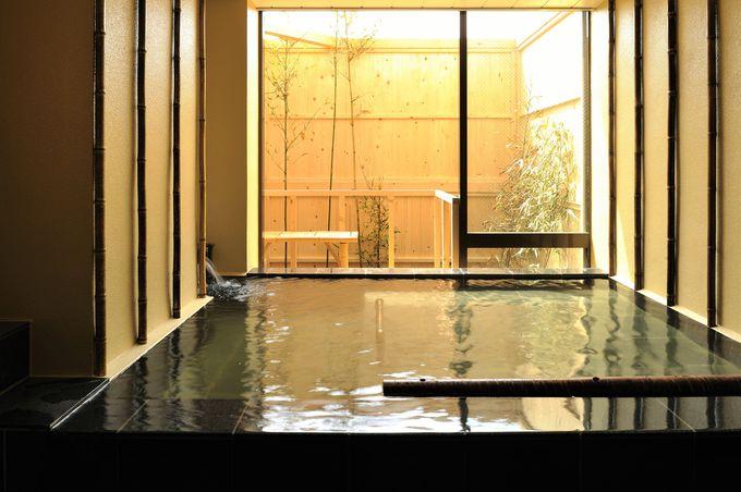 浅虫温泉「宿屋つばき」のお湯は美肌力高し!