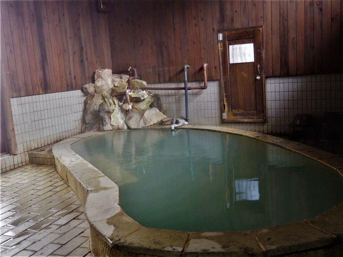 奥山田温泉レッドウッドインは100%源泉かけ流し!