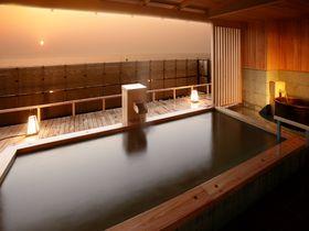 夕日の美しい宿No.1!新潟・瀬波温泉「夕映えの宿 汐美荘」で美肌になる!
