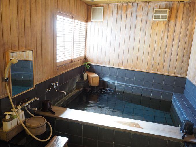 温泉じゃないのに芯まで温まる「割烹の宿 美鈴」のお風呂