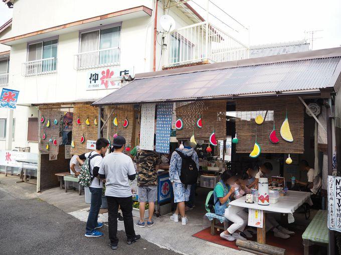 和歌山県No.1かき氷店の新宮市「仲 氷店」とは
