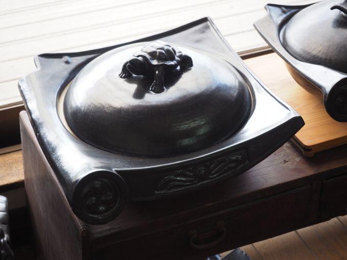 瓦食器(石州瓦窯元 亀谷窯業)