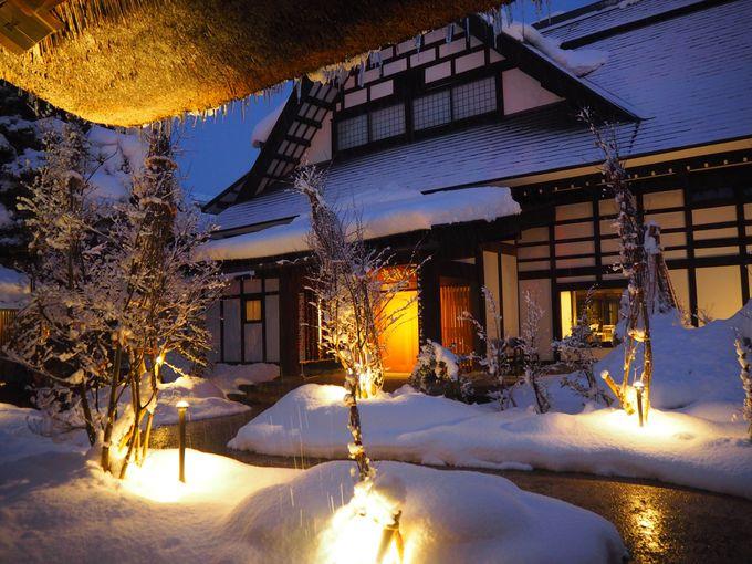 「赤湯温泉 山形座瀧波」は山形県有数の老舗旅館