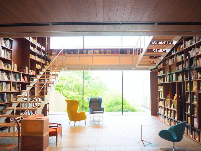 「強羅温泉 箱根本箱」は箱根最大の蔵書を擁するブックホテル