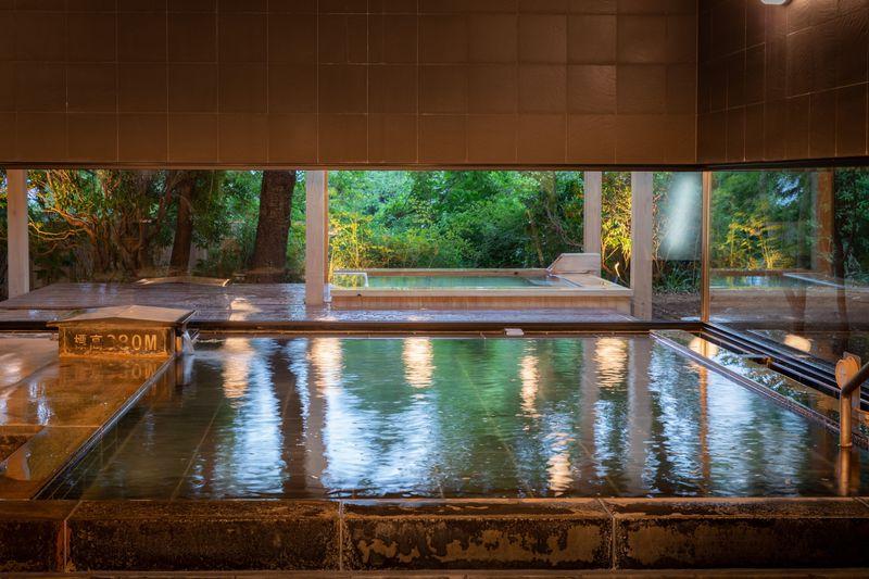 「箱根本箱」(強羅)の2種類の美肌温泉で贅沢ステイ!
