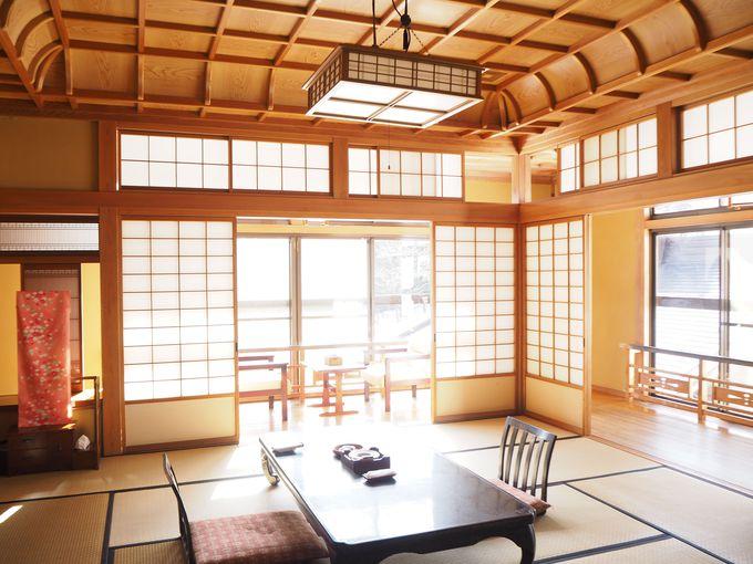 旅のスタイルに合わせた客室を選べる「大沢山温泉 大沢館」