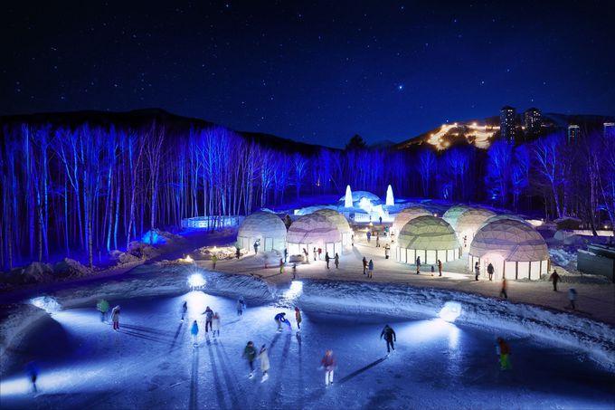 「星野リゾート トマム」には滑らなくても楽しめる冬がある