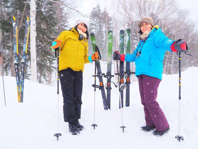 滑る人にもサプライズ!「絶景シャンパンバー」で雪上乾杯