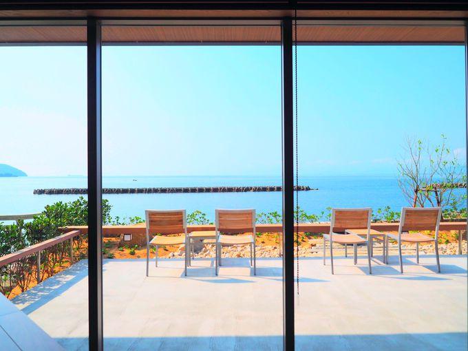 瀬戸内の海を眺めながら食べる「海音真里」極上の朝食タイム