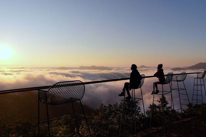「星野リゾート トマム」と言えば、やっぱり雲海テラス!