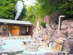 別府明礬温泉「御宿ゑびす屋」でミルキーブルーの湯と地獄蒸し三昧