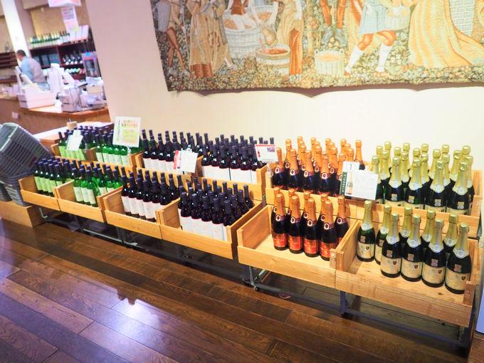 試飲でお気に入りのワインを見つける