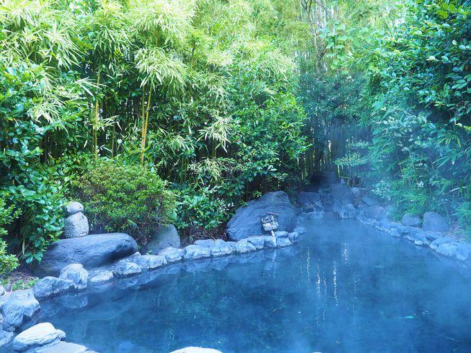日田「天ヶ瀬温泉 浮羽」の硫黄の香り高い湯で美肌になる