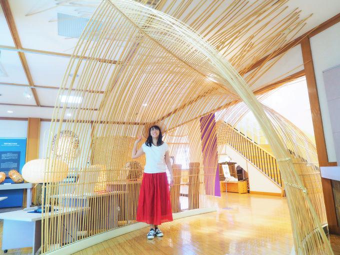 別府伝統の竹細工の奥深さを知る