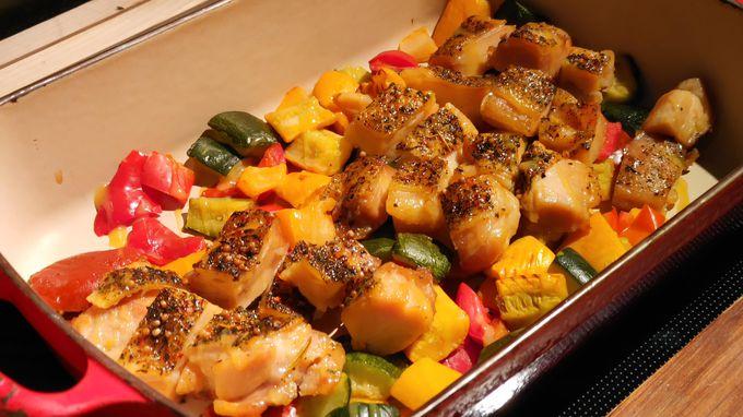 ニニヌプリは通常の料理も大人気!