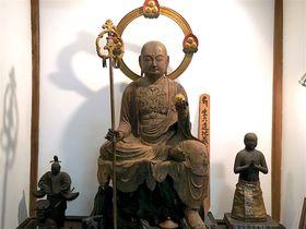 年に一度の公開!その身を焦がして救う・京都「嵯峨薬師寺」生六道の地蔵菩薩