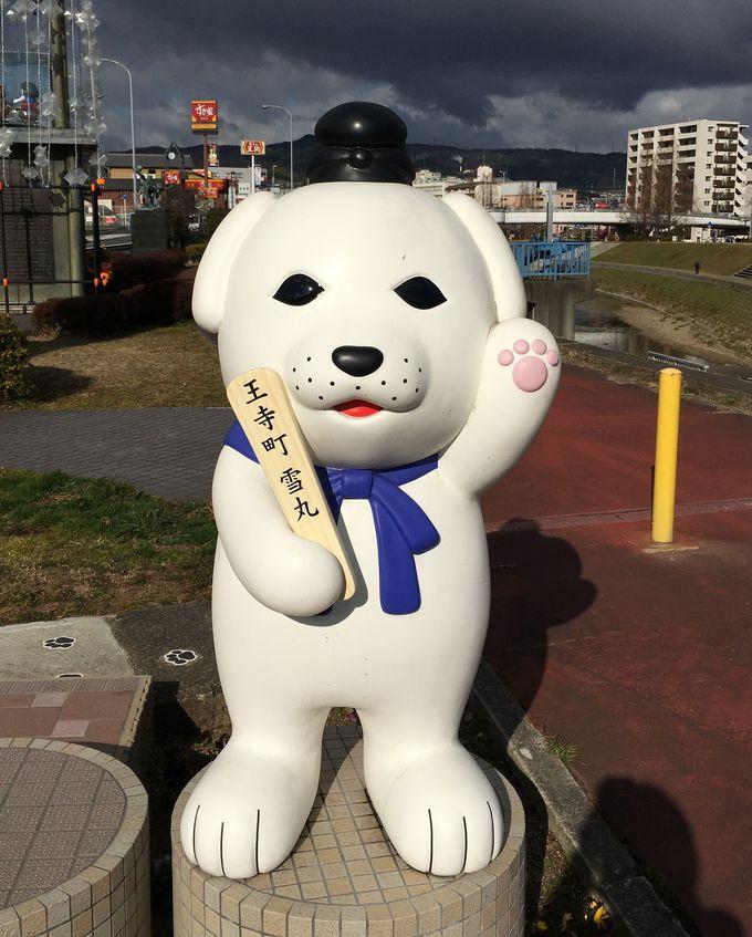達磨寺ゆかり、王寺町のマスコットキャラクター『雪丸』が大人気!