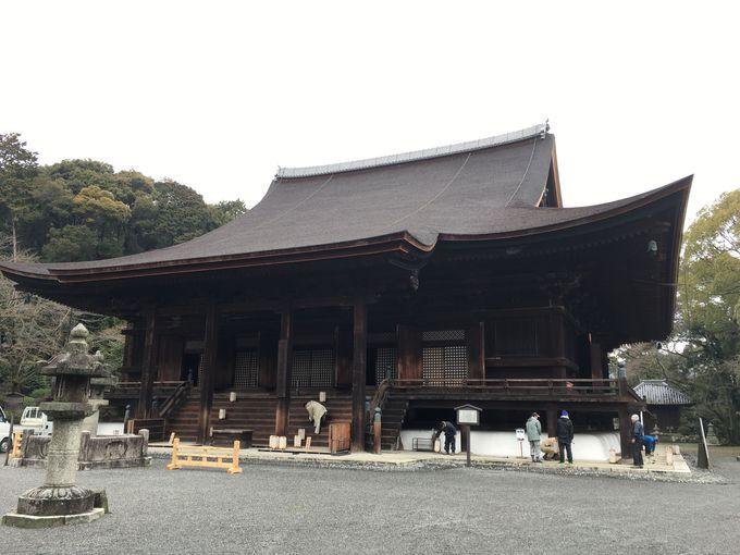 見どころ多い三井寺境内