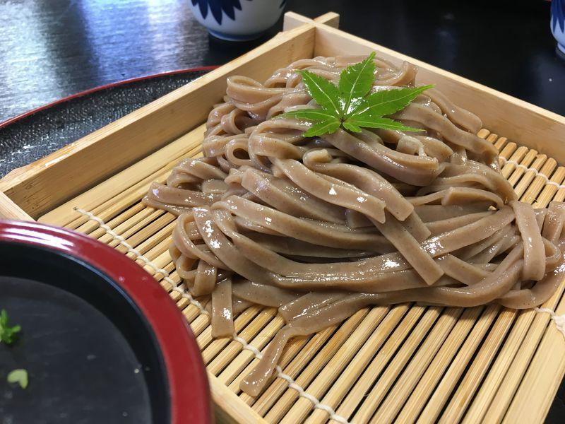 錦帯橋での昼食はコレ!岩国の新名物「蓮根麺」