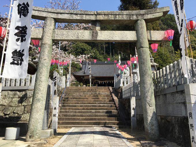 氏神さまを祀る地域に根付いた神社