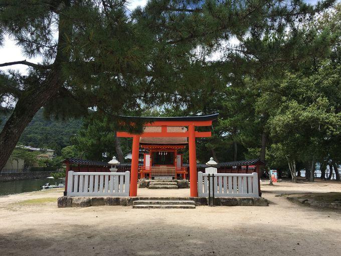 清盛を祀る「清盛神社」