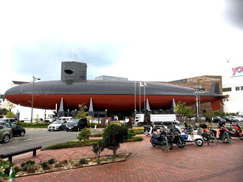 中に入れる!呉市「てつのくじら館」は日本で唯一の展示潜水艦
