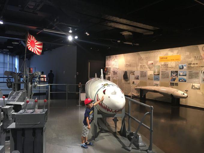 潜水艦を併設する史料館は愛称「てつのくじら館」