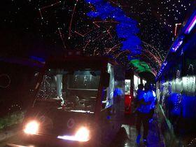 幻想的なキラめきトンネル!山口・錦川鉄道の遊覧車「とことこトレイン」
