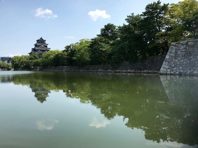 広島の新スポット!「広島城遊覧船」で探る広島城の今と昔
