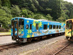 山口・岩国のローカル線・錦川鉄道「錦川清流線」鉄道と大自然を満喫
