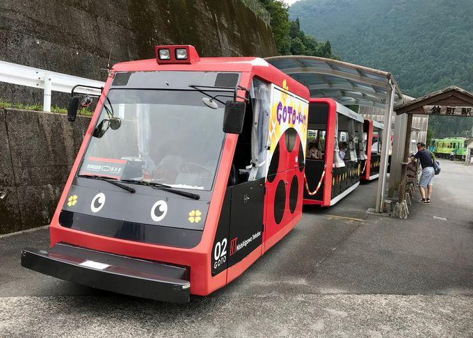 絶景からとことこトレインまで丸ごと錦川清流線で楽しもう!