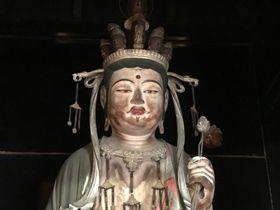 奈良・大和郡山「額安寺」の十一面観音は色白お洒落な美仏さま!