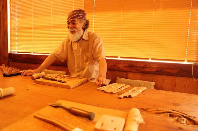 屋久杉を使用して自分だけのお箸を作ろう