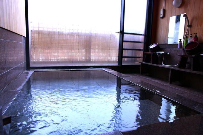 木曽福島温泉を満喫