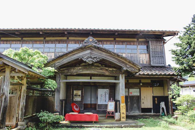 江戸時代に建てられた弥彦神社の元権宮司宅
