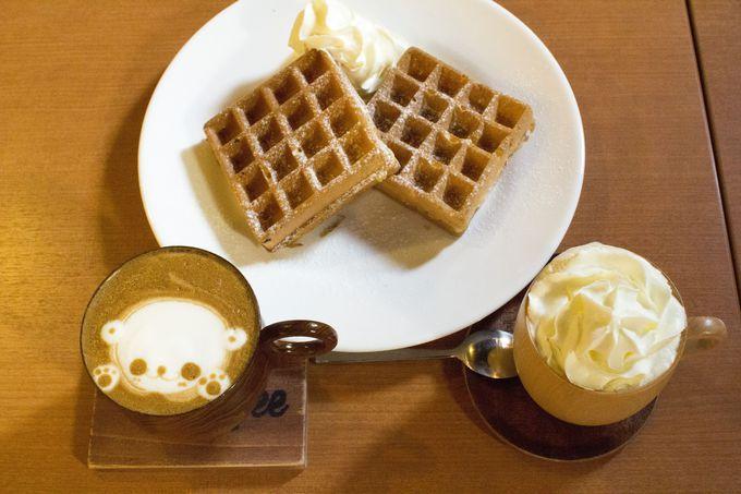 多彩なラテアートが楽しめるSignStar Coffee